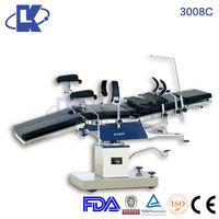 adjustable rotating bed X-ray hydraulic obstetric delivery surgical table iso