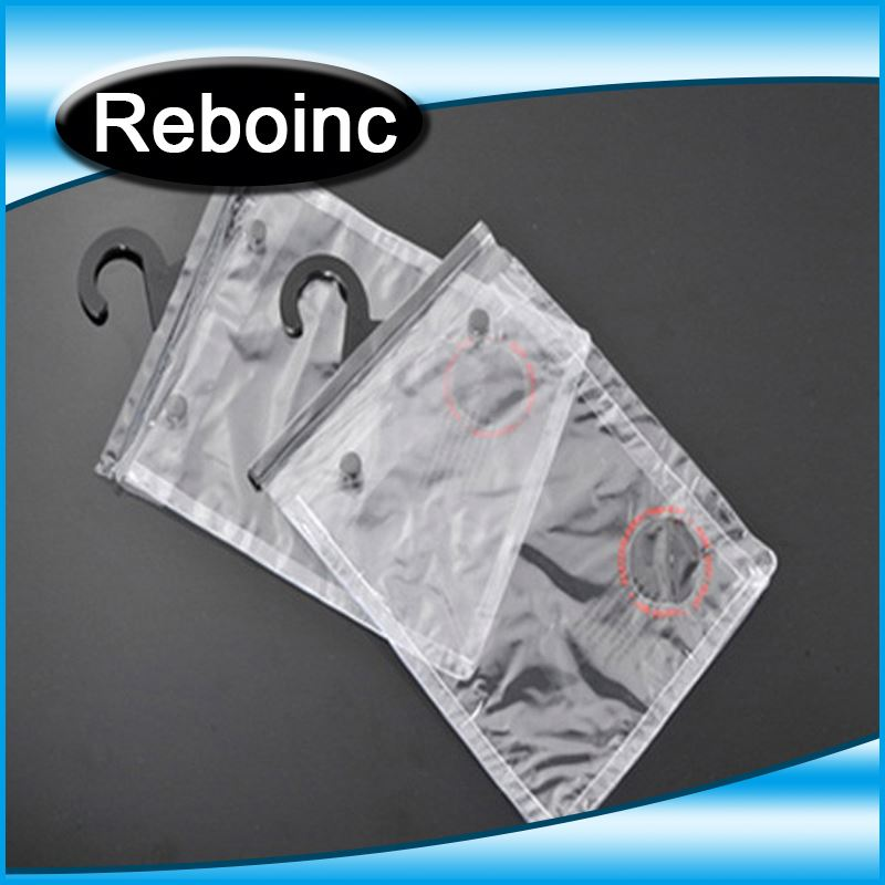 Logo printed eva hook bag for underwear packaging XYL-E123