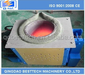 Material to furnace smelting iron