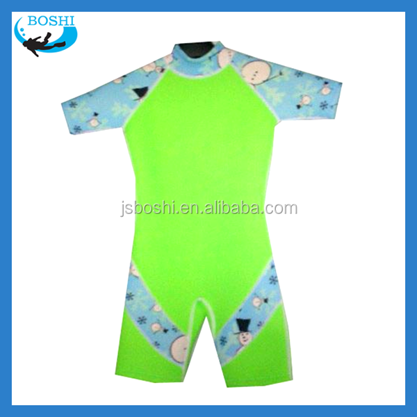 popular inflatable swim suit Kid's Neoprene surf suit