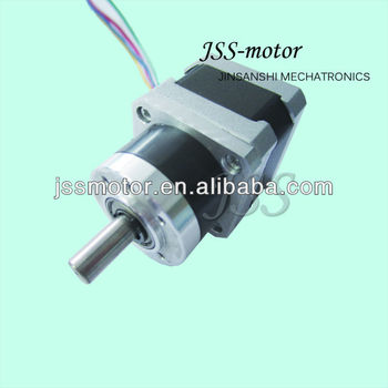 Nema 17 high torque stepper motor with planetary gear box for Nema 17 stepper motor torque