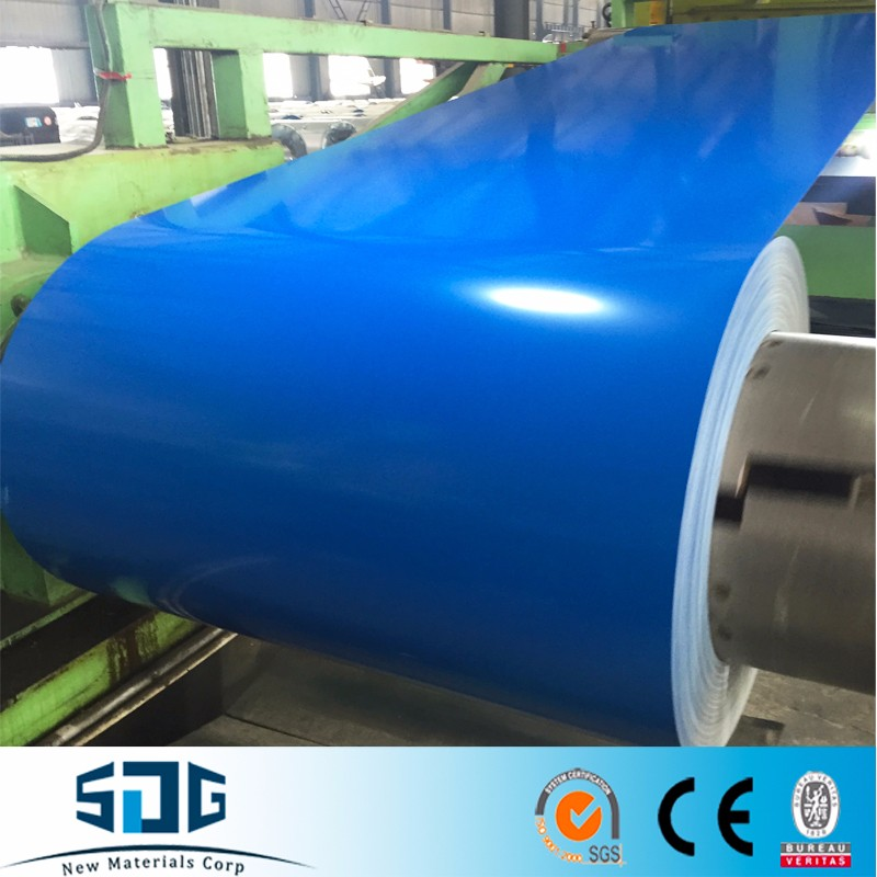 Shandong SDG brand ppgi pre-painted galvalume steel coil export to Maldives