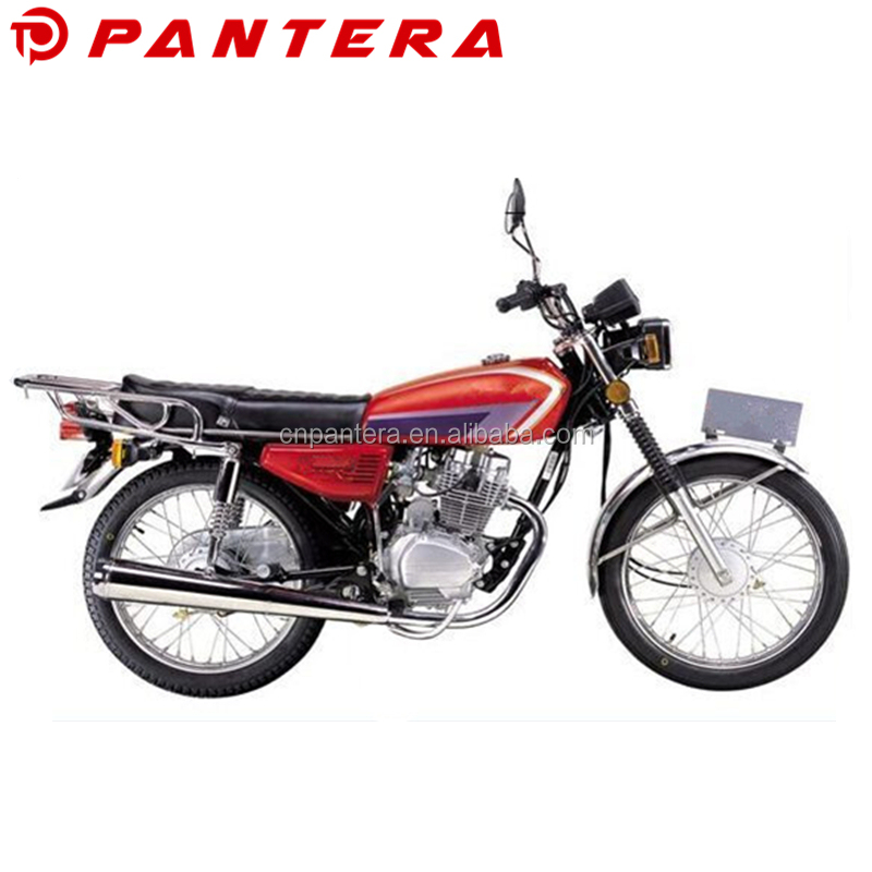 Cheaper Chinese Gas Bikes CG125 4 Stroke Motorcycle 125 cc for Sudan