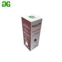 Cheap price 10ml 15ml 30ml 50ml art paper e liquid box with OEM logo