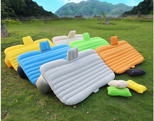 2017new wholesale Car Back Seat Cover Car Air Mattress Travel Bed Inflatable Mattress Air Bed flocking Inflatable Car Bed