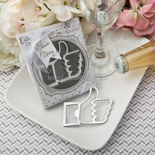 2016 Unique Wedding and Party Decoration Gift of Like For Love Thumbs Up Bottle Opener Favors For Event favors