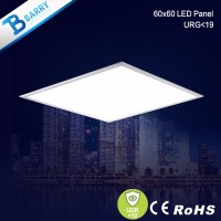 High lumen ugr<19 rectangular led panel light 600 600 ceiling led panel lamp