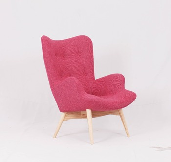 Modern Living Room Fabric lounge chair