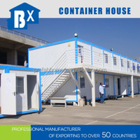 Two windows and two doors container home made in China