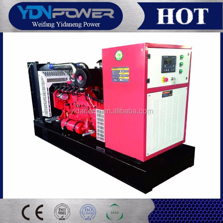 Soudproof silent natural gas generator set