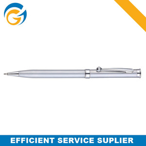 High Quality Sliver Office Metal Ball Pen