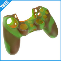 protective camouflage silicone case cover for ps4 controller video game player cases