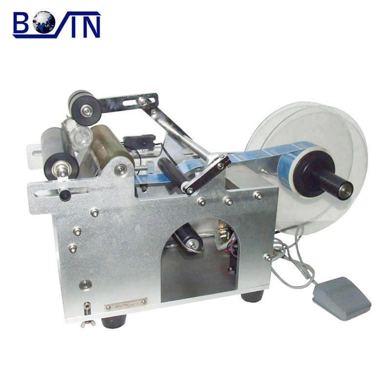 tin can labelling machine