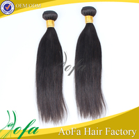 china supplier sew machin real human hair