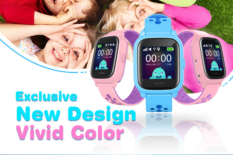 2019 Fashion Ip67 Watch Security Protection Children'S Waterproof Gps Smart Watch