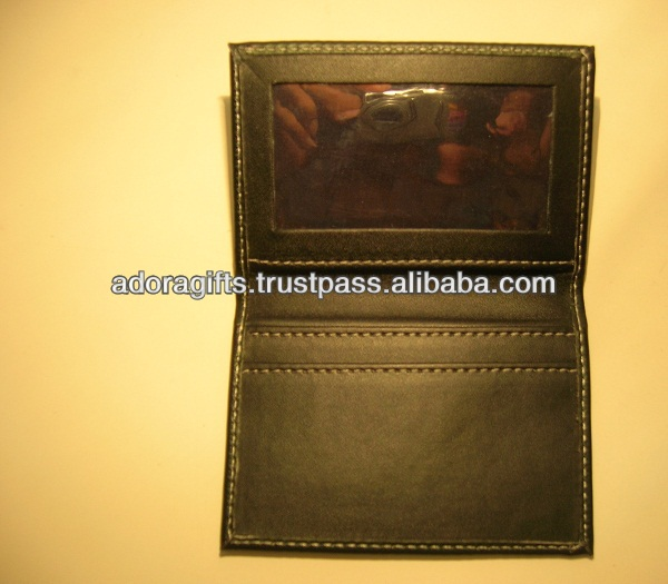 promotional leather card holders name / high quality business card holder / gift card holders wholesale leather