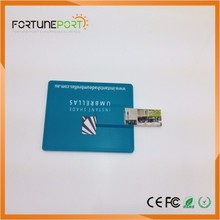 Custom Logo Sound Card USB Drive Bulk Items Card Type USB Flash Drive