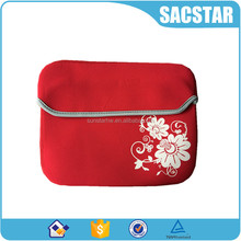 "personalized red 10"" tablet laptop sleeve bag portable computer bag"