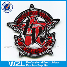 Motorcycle patches of biker club clothing embroidery patches designs