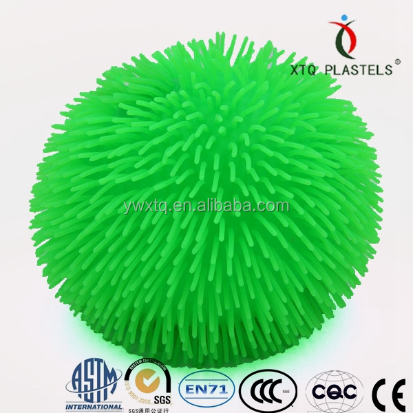 Hot selling magic squishy puffer ball toys for kids,spiky stress puffer ball