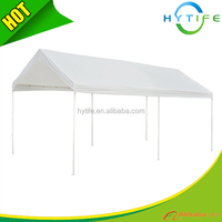 2016 hot sale 3X6m PE strong and sturdy canopy used metal carports