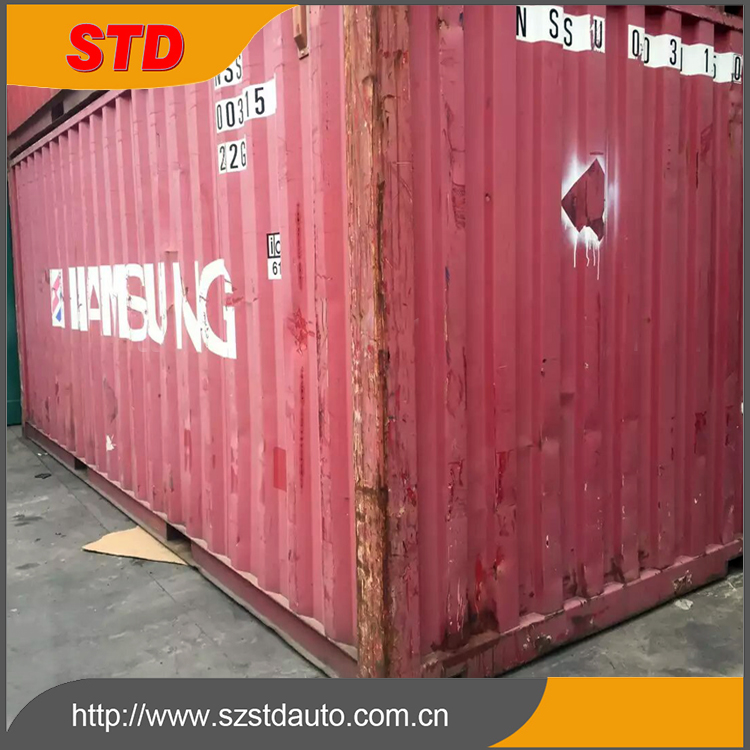 China cheap 20ft high cube used shipping container for sale