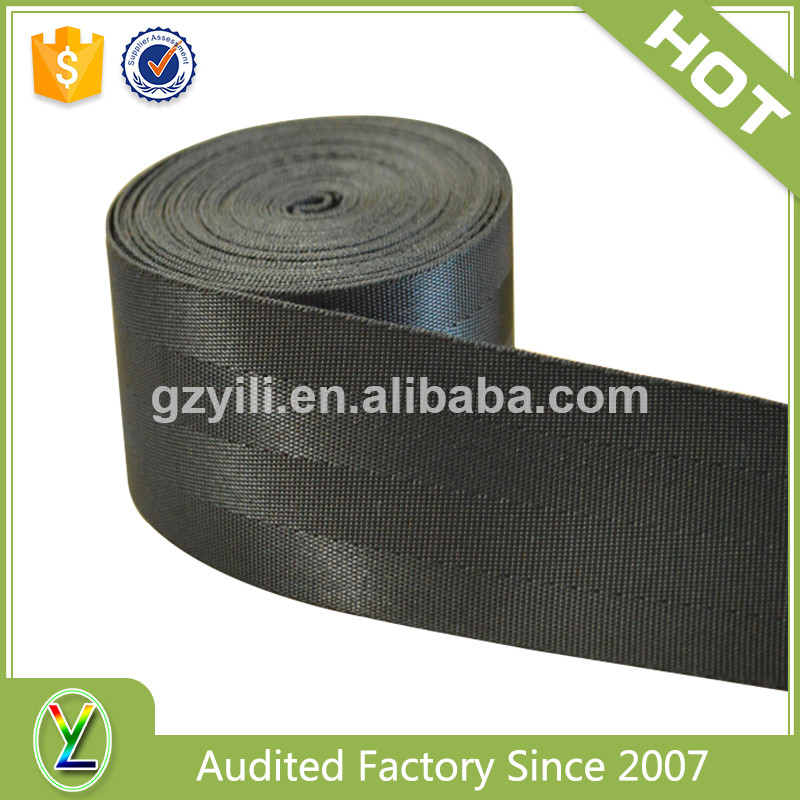 Customized vinyl coated nylon webbing