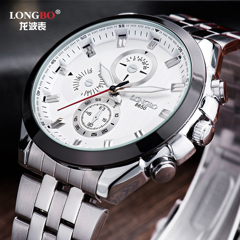 wholesale cheap quartz watches japan movt stainless steel band big dial watches for men