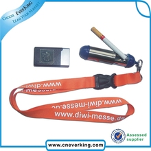 eco-friendly promotion gifts e-cigarette lanyards necklace