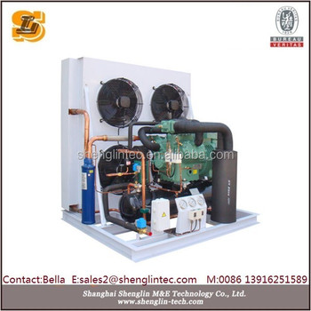 Bitzer semi-hermetic variable speed condensing unit