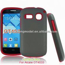 For Alcatel One Touch T POP OT4010, Hybrid Cellphone Case Cover , Hot Selling, Factory Price