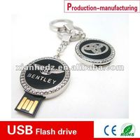 car logo KIA keychain metal 16 gb usb flash drive