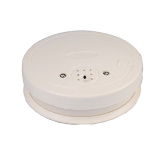 Global Eyes H.264 720P WiFi Wireless IP Nanny Smoke Detector Hidden Camera , Support Motion Max 32GB
