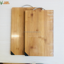 Bamboo Chopping Block with ss Handle Cutting Board/ Bamboo Chopping Blocks Cheese Board