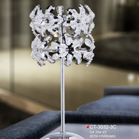 furniture for home metal table lamp tulip