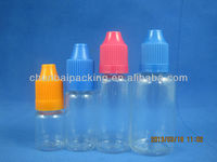 botol tetes mata PET with child proof cap with long thin tip