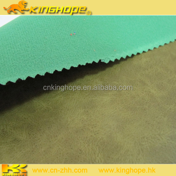 Hot sale book binding pu leather with low price for shoe fabric and bag fabric
