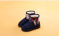 Fall 6066 new single children shoes leather sandals baby toddler cowhide one feet, recreational shoe leather shoes