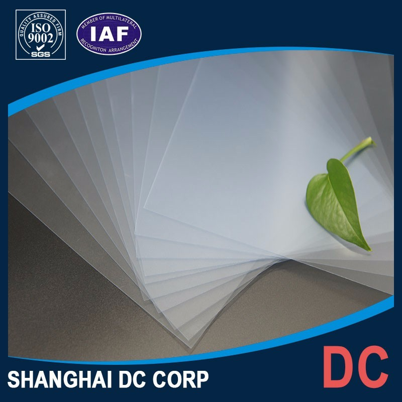 Plastic Rigid Clear Durable Transparent PVC Sheet