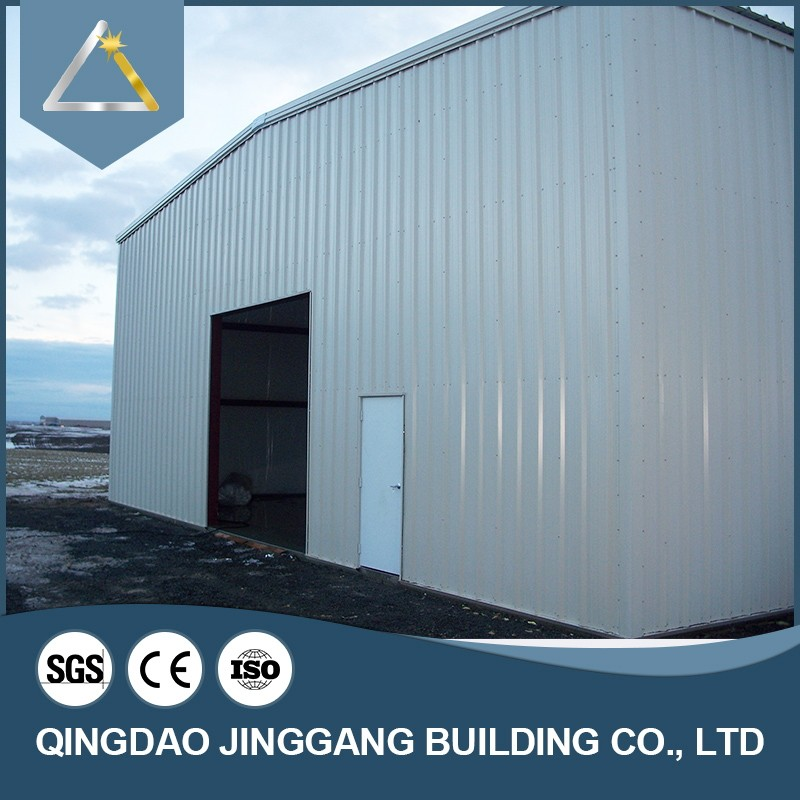 Prefab Light Building Materials Steel Frame Structure Shed