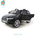 WDHL159 2018 New Licensed child Ride on 12V Electric Car Audi Q7 toy bar for kids to driving china factory
