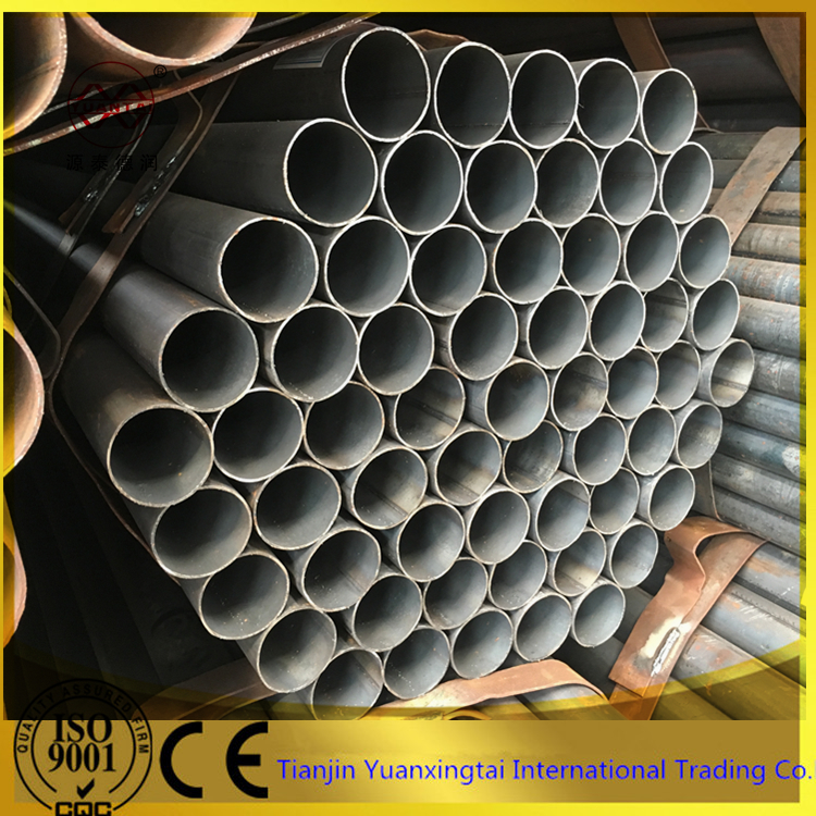 China factory black coated erw carbon round steel pipe for sale companies looking for distributors