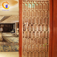 Wholesale Cheap Japanese Living Room Stainless Steel Decorative Fixed Room Dividers Partitions