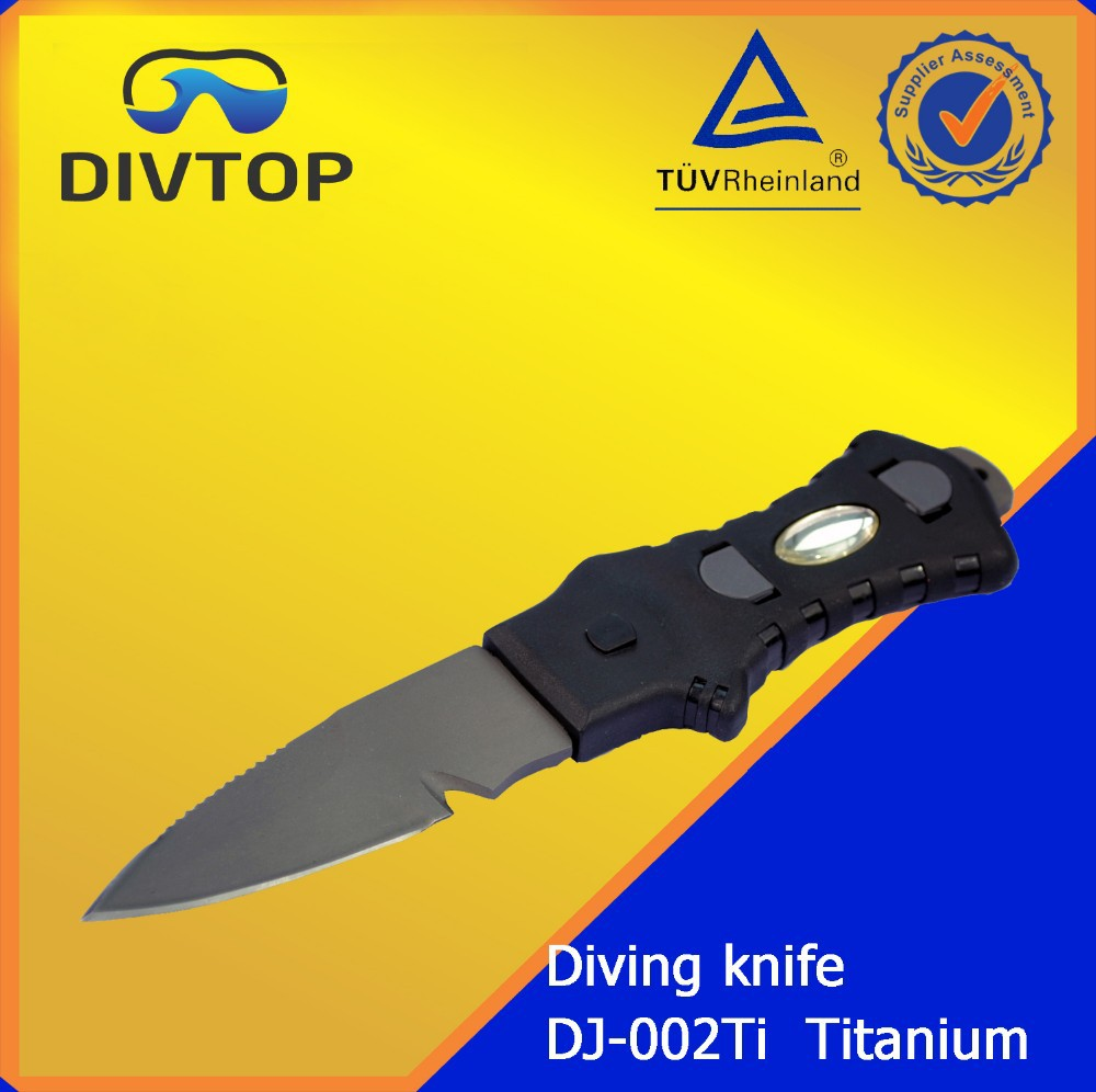 2017 Small Knife For Scuba Diving With Line Cutter