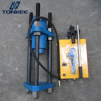100T Hand power hydraulic track pin press 100 ton Portable track press for 20 ton machine
