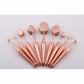 Hot selling OEM quality foundation blush cosmetic makeup brush sets