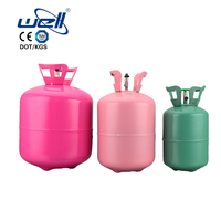 30/50LB Mini disposable helium gas cylinder steel helium tank balloons for sale