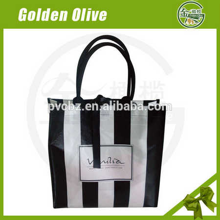 wholesale non-woven handle bags for promotion