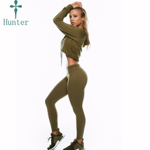 OEM Sports Apparel Manufacturer Custom Gym Wear Women Tight Yoga Fitness Leggings