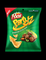 Poca snack Sauteed Beef Flavor 41/45G/Potato Snack/Wholesale Health Snacks/Wholesale Snacks Bag/Seafood Snacks